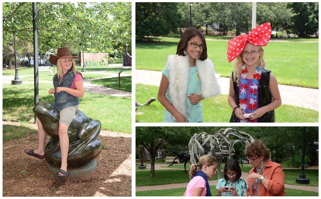 Summer Art Campers, Woodson Art Museum 2015