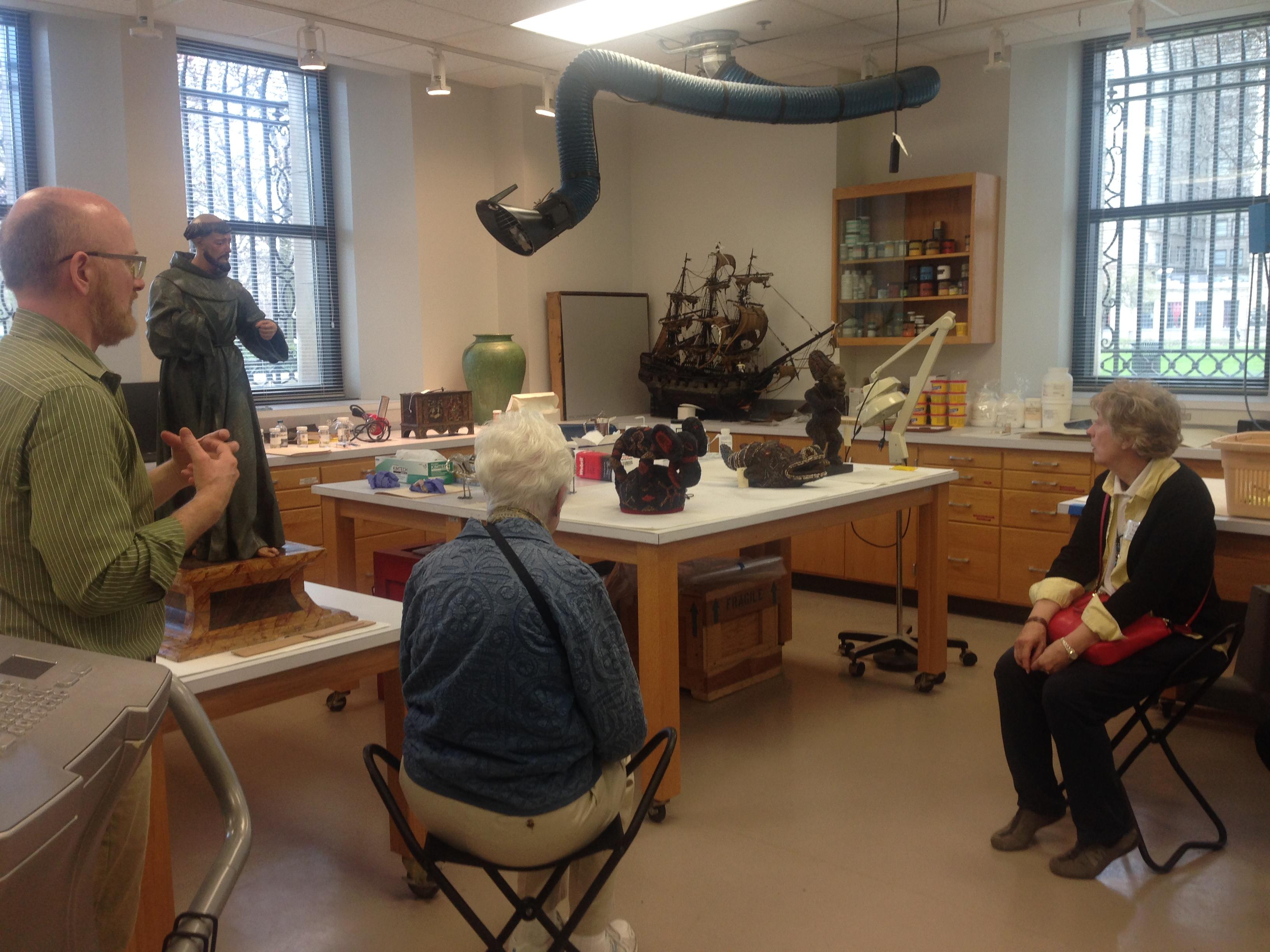 Detroit Institute of Arts Conservation Department