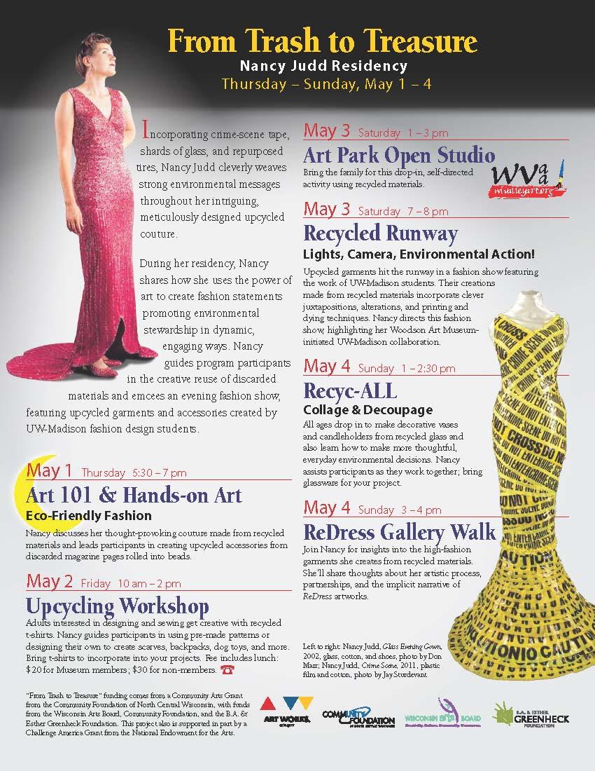 Nancy Judd artist residency programs