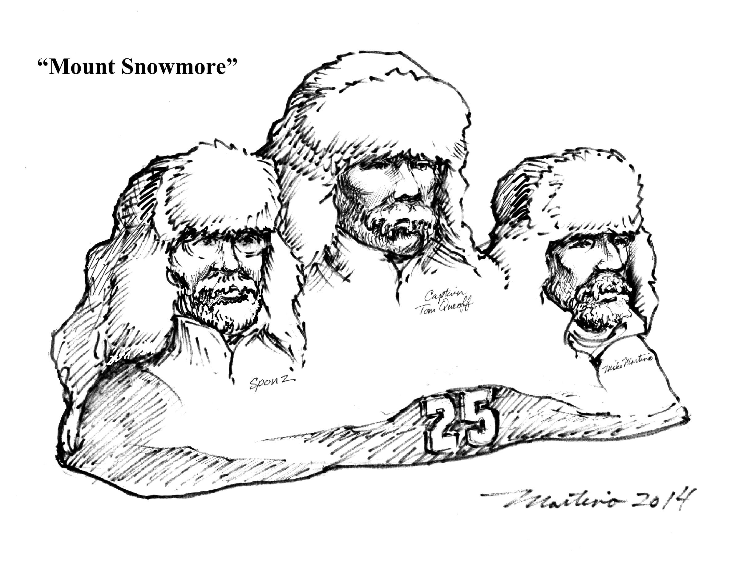 e Woodson Mt Snowmore sketch