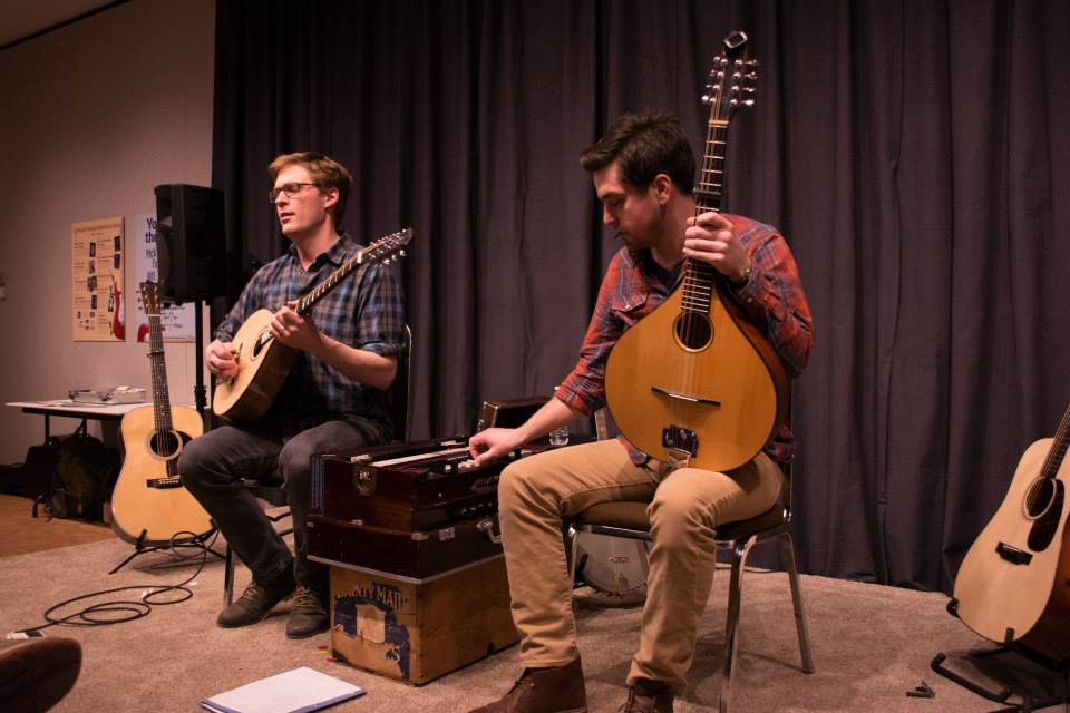 Musical Thursday guest artists Brian Miller and Randy Gosa perform at the Woodson Art Museum on March 19.