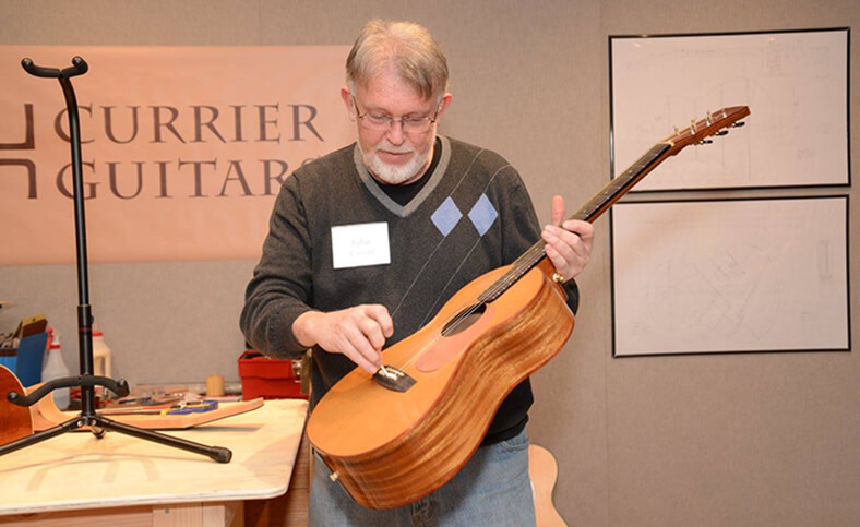 Luthier John Currier