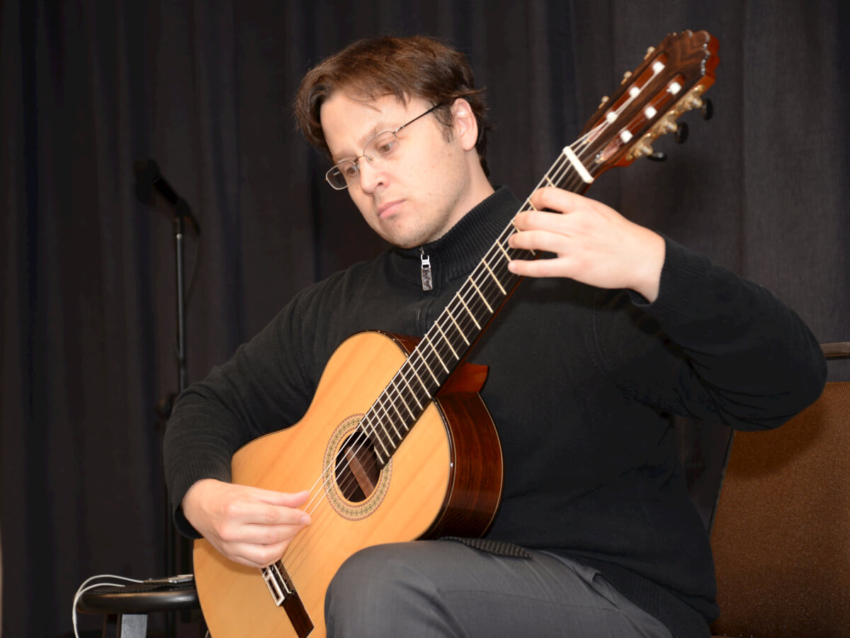 Guitarist & Historian Michael Kudirka