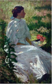 Charles Webster Hawthorn, A Study in White